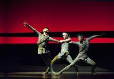 Modern Dance Drama Stock Photo