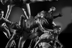 Modern dance : Group of Sculptures Stock Photos