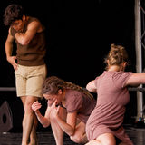 Modern Dance Performance Stock Photo