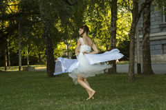Modern dance performance Royalty Free Stock Photos