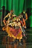 Modern dance performance Royalty Free Stock Photography