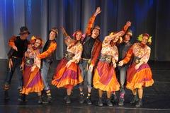 Modern dance performance Royalty Free Stock Image