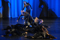 Modern dance performance Royalty Free Stock Image