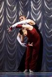 Modern dance performance Stock Photos