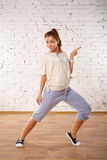 Modern dance poses. Stock Photography