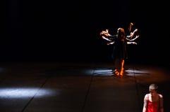 Modern dance show Stock Photography