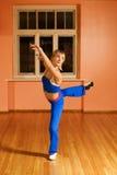 Modern dance trainer royalty free stock photo