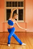 Modern dance trainer Stock Image