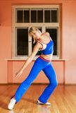 Modern dance trainer. Picture of a Modern dance trainer stock image
