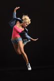 The modern dancer Royalty Free Stock Photography
