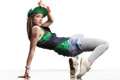 The modern dancer Stock Photography