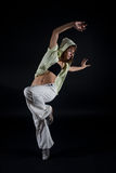 Modern dancer Stock Image
