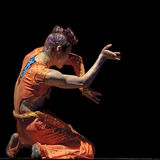Modern dancer Royalty Free Stock Image