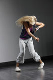 The modern dancer Stock Photos