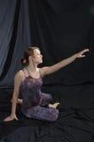 Modern dancer stock photography
