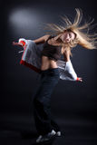 Modern dancer in action Stock Images