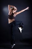 Modern dancer in action Stock Photo