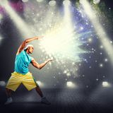 Modern dancer Royalty Free Stock Images