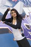 Modern dancer girl outdoor Royalty Free Stock Photo