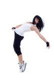 Modern dancer poses Stock Image
