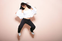 Modern dancer poses Stock Photo