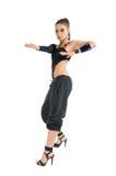 Modern dancer wearing high heels Stock Photos