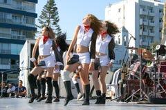 Modern dancers stock photos