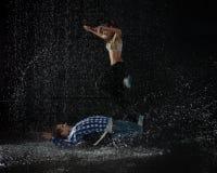 Modern dances. Royalty Free Stock Image