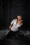 Modern dances. Royalty Free Stock Photography