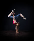 Modern dansare (den normala versionen) Royaltyfri Fotografi