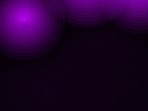 Modern dark abstract background with circles. Modern dark abstract background with purple circles Royalty Free Illustration