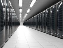 Modern data center Stock Photos