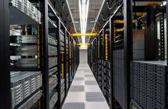 Modern datacenter stock image