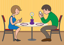 Modern Date Stock Image