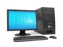 modern dator Arkivfoton