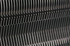 Modern datorprocessorkylare eller element eller kylfläns royaltyfria foton