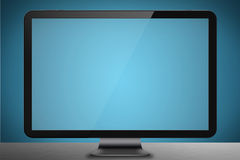 Modern datorskärm Arkivfoton