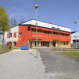 Modern day nursery building Stock Image