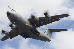 Modern Day Teleports. This Is a photo of a A400 Military aircraft. its most used purpose is transportation of goods, people (military personal) or cargo Royalty Free Stock Images