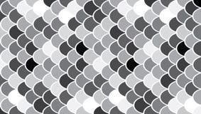 Modern de kunstpatroon van cirkels Stock Afbeeldingen