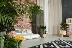 Modern decor of lounge royalty free stock photo