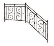 Modern decorative  banisters, railing. Stock Image