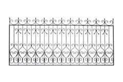 Modern decorative handrails, fences. stock images