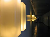 Modern decorative wall lamps Royalty Free Stock Image