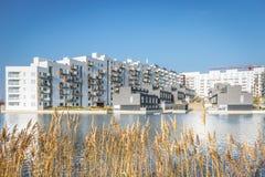 Modern Deens Stedelijk Ontwerp stock afbeelding