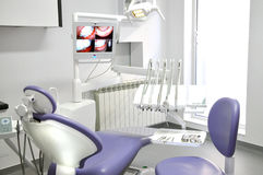 Modern dental office interior Royalty Free Stock Image