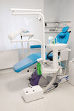 Modern dental room. Equipment of a modern dental room stock photos