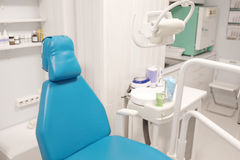 Modern dental room. Equipment of a modern dental room royalty free stock photos