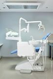 Modern dentist chair Stock Photography