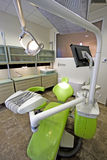 Modern dentist's chair in a medical room.  Royalty Free Stock Photography